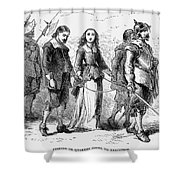 Quakers: Mary Dyer, 1659 Shower Curtain