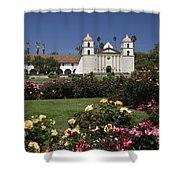 Queen Of The Spanish Missions Shower Curtain