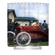 Race Car, 1914 Shower Curtain