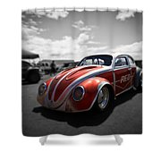 Race Ready Shower Curtain