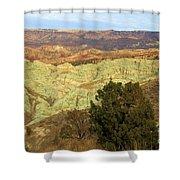 Rainbow Canyon Shower Curtain