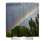 Rainbow's End Shower Curtain