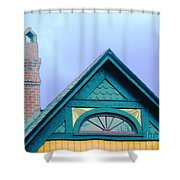 Randles Gable  Shower Curtain