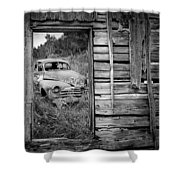 Ravages Of Time Shower Curtain