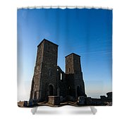 Reculver Towers Shower Curtain