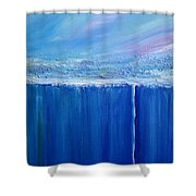 Reflection Of Yesterday Series Shower Curtain