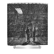 Refrigerated Ship, 1876 Shower Curtain