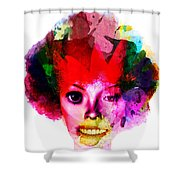 Relationship Of A Clown Shower Curtain
