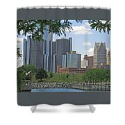 Renaissance View Shower Curtain