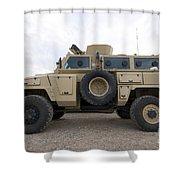 Rg-31 Nyala Armored Vehicle Shower Curtain