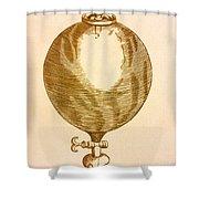 Robert Boyles Air Pumps Shower Curtain
