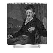 Robert Fulton, American Engineer Shower Curtain