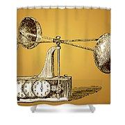 Robinsons Anemometer, 1846 Shower Curtain