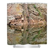 Rocky Mountain Reflections Shower Curtain