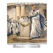 Roman Senate: Catiline Shower Curtain