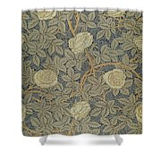 Rose Shower Curtain by William Morris