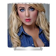Rosey13 Shower Curtain