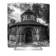 Round Church Of The Holy Sepulchre Shower Curtain