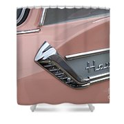 Route 66 Studebaker Hawk Shower Curtain
