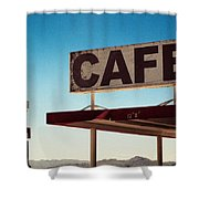 Roy's Cafe Shower Curtain