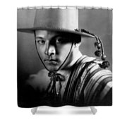 Rudolph Valentino Shower Curtain