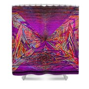 Rumblings Within Shower Curtain by Tim Allen