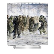 Russia: Siberia, 1882 Shower Curtain by Granger
