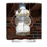 Rusty Lantern Shower Curtain