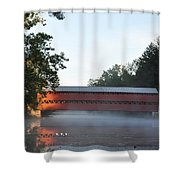 Sachs Covered Bridge  Near Gettysburg Shower Curtain