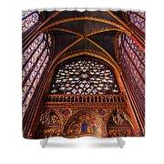Saint Chapelle Shower Curtain