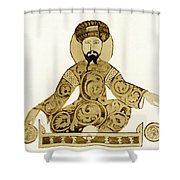 Saladin, Sultan Of Egypt And Syria Shower Curtain by Science Source
