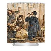Salem Witchcraft, 1692 Shower Curtain
