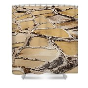 Salt Spring And Incan Shower Curtain