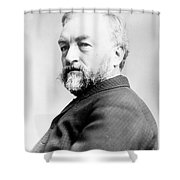 Samuel Langley, American Astronomer Shower Curtain