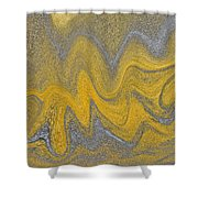 Sand Abstract Shower Curtain
