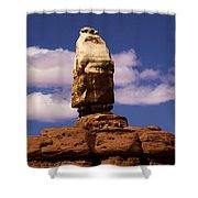 Santa Clause At Canyonlands National Park Shower Curtain