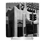 Santa Fe Adobe Shop Shower Curtain