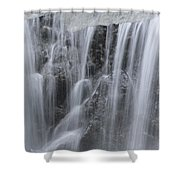 Scenic Waterfall In Borneo Rain Forest Shower Curtain