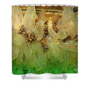 Sea Vase Community Shower Curtain