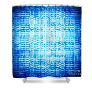 Seamless Honeycomb Pattern Shower Curtain