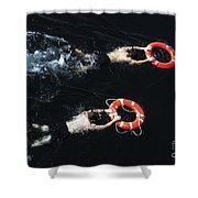 Search And Rescue Swimmers Shower Curtain