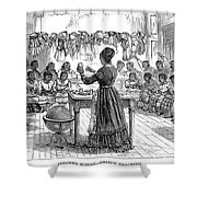 Segregated School, 1870 Shower Curtain by Granger