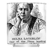 Selma Lagerlof (1858-1940) Shower Curtain