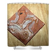 Sena - Tile Shower Curtain