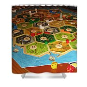Settlers Of Catan Shower Curtain