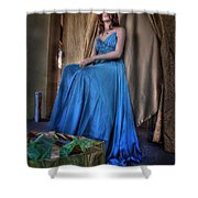 Shabby Genteel Shower Curtain