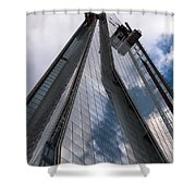 Shard Shower Curtain