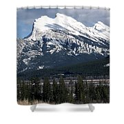 Sharp Rundle Peaks Shower Curtain