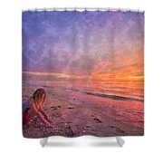 Shelling Shower Curtain