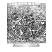 Shipboard Life Shower Curtain